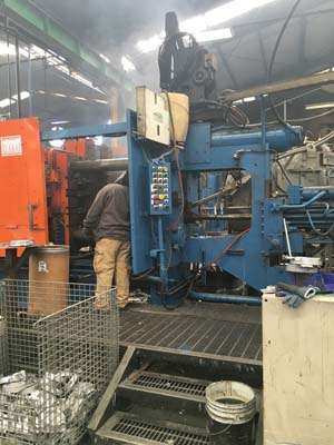 Picture of HPM II-600-A Horizontal Cold Chamber Aluminum High Pressure Die Casting Machine For Sale DCMP-3832