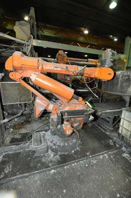 Picture of ABB IRB 6400 Six Axis Industrial Robot with Extractor Package/Gripper For Extracting Die Castings For_Sale DCMP-3860