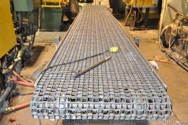 Picture of Rimrock RR-24-220 Mesh Belt Type Indexing Conveyor for Die Cast and Foundry Applications For_Sale DCMP-3870