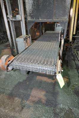 Picture of Rimrock RR-24-124 Mesh Belt Type Indexing Parts Conveyor with Water Quench Tank for Die Cast and Foundry Applications For_Sale DCMP-3873