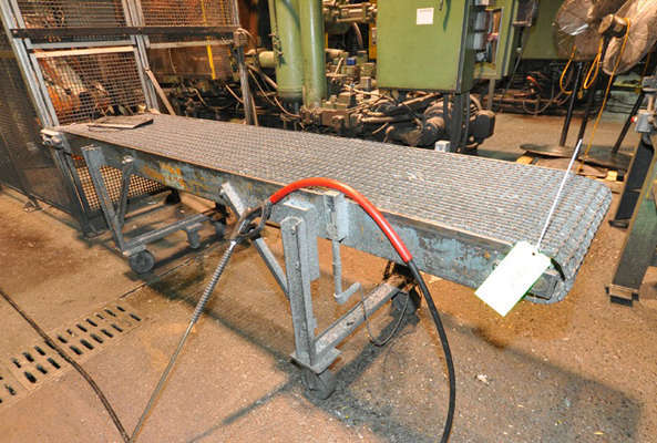 Picture of Rimrock RR-24-124 Mesh Belt Type Indexing Conveyor for Die Cast and Foundry Applications For_Sale DCMP-3874