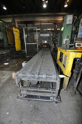 Picture of Rimrock RR-30-216 Mesh Belt Type Indexing Parts Conveyor with Water Quench Tank for Die Cast and Foundry Applications For_Sale DCMP-3878