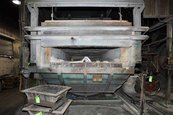 Picture of FW Schaefer FWS-TF-1500 Reverberatory Type Tilting (Rotating) Barrel Furnace  For_Sale DCMP-3889