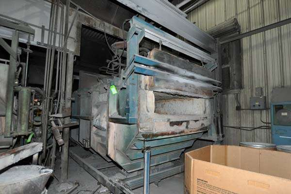 Picture of FW Schaefer FWS-TF-1500 Reverberatory Type Tilting (Rotating) Barrel Furnace  For_Sale DCMP-3892