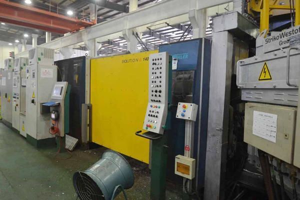 Picture of Buhler Evolution B 140 DL Horizontal Cold Chamber Aluminum/Magnesium Capable High Pressure Die Casting Machine For_Sale DCMP-4020