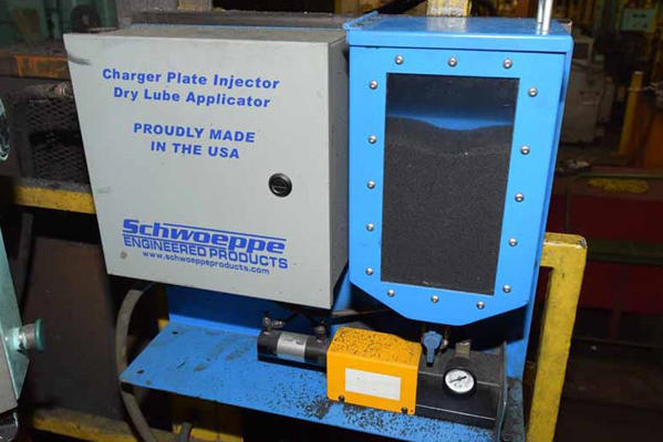 Used Buhler 105 Dl 1150 Tons Cold Chamber Die Casting