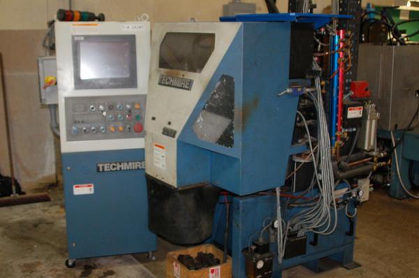 Picture of Techmire 22 GZNT (Gas furnace, zinc, NT Design) Multi-slide Hot Chamber Miniature Zinc (Zamak) High Pressure Die Casting Machine For_Sale DCMP-4154