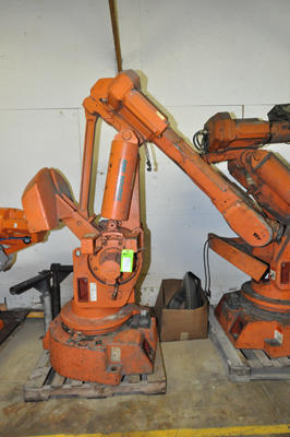 Picture of ABB IRB 6400 Six Axis Foundry Rated Industrial Robot For_Sale DCMP-4317