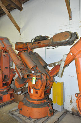 Picture of ABB IRB 6400 Six Axis Foundry Rated Industrial Robot For_Sale DCMP-4318