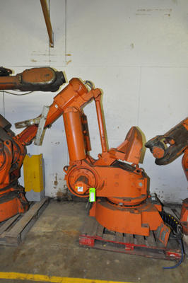 Picture of ABB IRB 6400 Six Axis Foundry Rated Industrial Robot For_Sale DCMP-4319