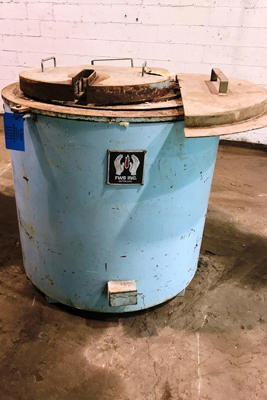 Picture of FW Schaefer 250 Electric Heated Silicon Carbide Crucible Type Aluminum Melting & Holding Furnace For Sale DCMP-4338