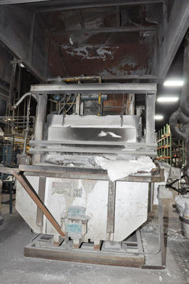 Picture of FW Schaefer FWS-TF-1500 Reverberatory Type Tilting (Rotating) Barrel Furnace  For Sale DCMP-4352