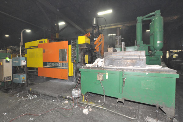 Picture of Toshiba DC 800 CL-HT Horizontal Cold Chamber Aluminum High Pressure Die Casting Machine For_Sale DCMP-4498