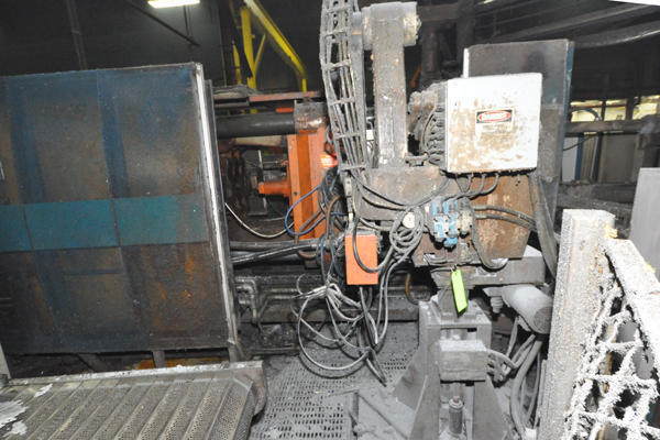 Picture of Rimrock 320 Multi-link Extractor Dedicated Three Axis Linear Parts Extractor For Die Casting & Foundry Operations For_Sale DCMP-4511
