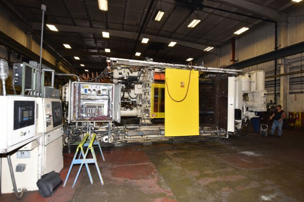 Picture of Prince 1242 CCM Horizontal Cold Chamber Aluminum High Pressure Die Casting Machine For Sale DCMP-4639