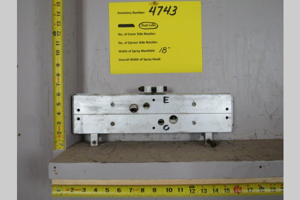 Picture of Rimrock  Rimrock Die Lube Spray Manifold for Model 410 Automatic Reciprocator Sprayer For_Sale DCMP-4743