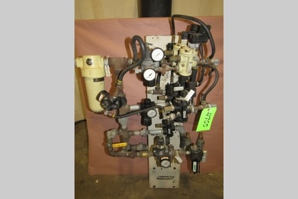 Picture of Rimrock 410 Regulator Package Pneumatic Assembly Manifold For_Sale DCMP-4755