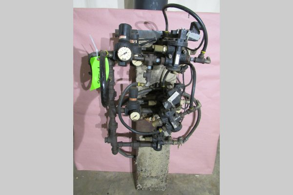 Picture of Rimrock 410 Regulator Package Pneumatic Assembly Manifold For_Sale DCMP-4756