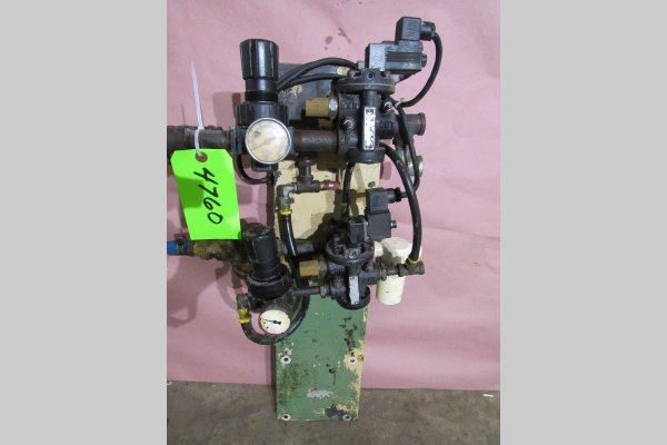 Picture of Rimrock 410 Regulator Package Pneumatic Assembly Manifold For_Sale DCMP-4760