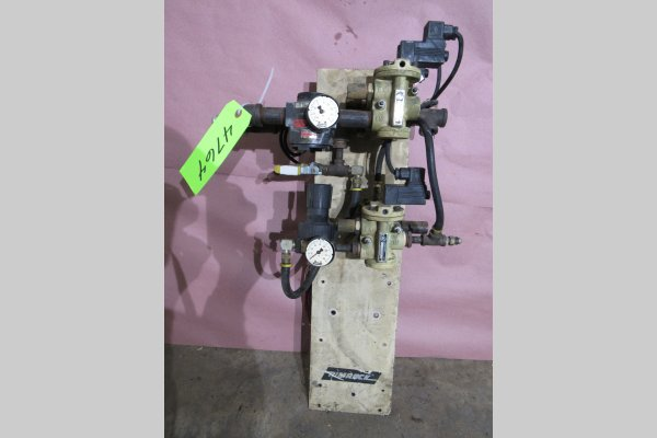 Picture of Rimrock 410 Regulator Package Pneumatic Assembly Manifold For_Sale DCMP-4764