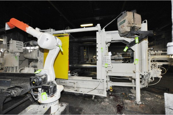Picture of Prince 836 CCA Horizontal Cold Chamber Aluminum High Pressure Die Casting Machine For Sale DCMP-4783