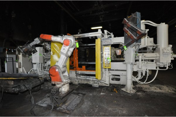 Picture of Prince 629 CCA Horizontal Cold Chamber Aluminum High Pressure Die Casting Machine For Sale DCMP-4786