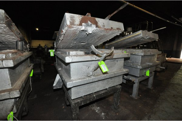 Picture of Cal-Miser SO-2600 Low Energy High Efficiency Natural Gas Heated Aluminum Holding Furnace For Sale DCMP-4806