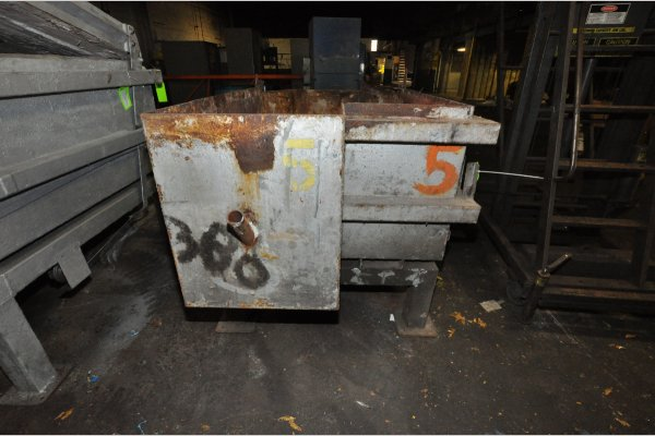 Picture of Cal-Miser SO-2600 Low Energy High Efficiency Natural Gas Heated Aluminum Holding Furnace For Sale DCMP-4814