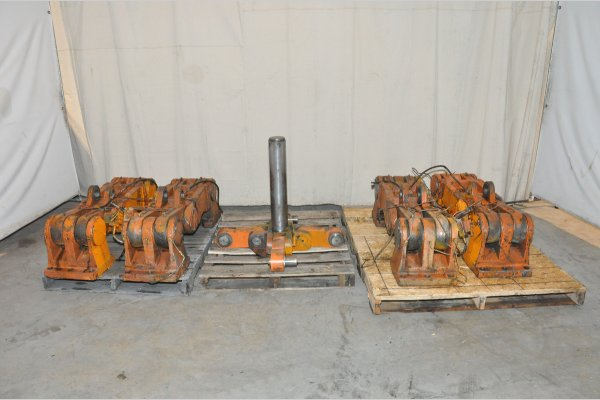 Complete Prince toggle linkage with linkage pins for Prince Model 836, 850 ton die casting machine