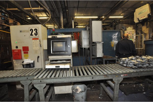 Picture of Prince 528 CCA Horizontal Cold Chamber Aluminum High Pressure Die Casting Machine For Sale DCMP-4956