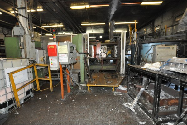 Picture of Buhler SC D/66 Horizontal Cold Chamber Aluminum High Pressure Die Casting Machine For Sale DCMP-4958
