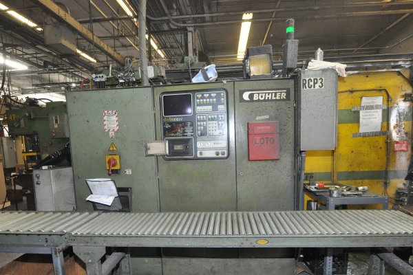 Picture of Buhler H-400-B V5 Horizontal Cold Chamber Aluminum/Magnesium Capable High Pressure Die Casting Machine For Sale DCMP-4959