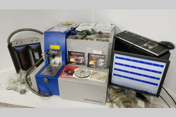 Picture of Spectro Analytical MAXx LMF04 Metal Analytic Spectrometer For_Sale DCMP-4966