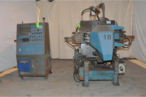 Picture of Techmire 66Z Multi-slide Hot Chamber Miniature Zinc (Zamak) High Pressure Die Casting Machine For_Sale DCMP-4969