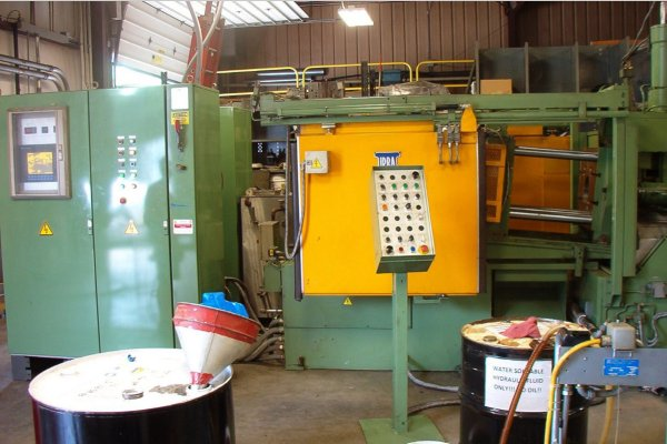 Picture of Idra OLZ 125 Horizontal Hot Chamber Zinc (Zamak) High Pressure Die Casting Machine For Sale DCMP-4980
