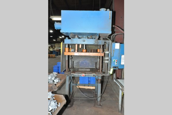 Picture of Metal Mechanics DCT-30 Four Column (Post) Vertical Hydraulic Die Casting Trim Press For_Sale DCMP-5101