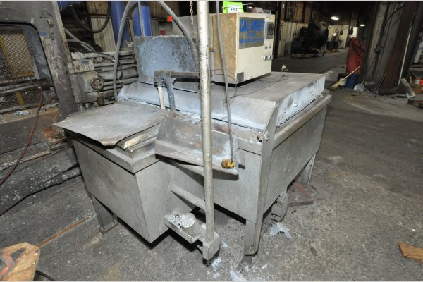 Picture of Cal-Miser SO 1600 Low Energy High Efficiency Natural Gas Heated Aluminum Holding Furnace For Sale DCMP-5133