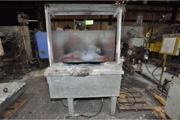 Picture of TDC-HF TDC-ALF-1600 Low Energy High Efficiency Natural Gas Heated Aluminum Holding Furnace For_Sale DCMP-5148