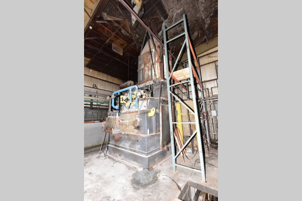 Picture of Striko Westofen MH II-N 1000/1000 G-eg Stack (tower/shaft) Type Stationary Aluminum Melting and Holding Furnace For Sale DCMP-5196